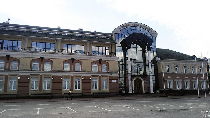 краеведческий музей чебоксары фото мешковину она